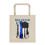 All Purpose Back The Blue Canvas Tote bag - The 2nd Tee Shop tote