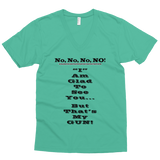 No No No No Men's V-Neck Tees - The 2nd Tee Shop