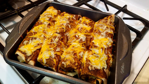 Boston Spice Red Coat Enchiladas