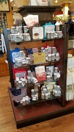 Boston Spice at the Boston Tea Party Ships and Musuem Gift Shop