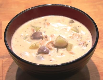 Boston Spice Revolutionary Clam Chowdah New England Chowder