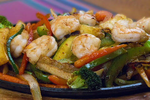 Boston Bueno Spice Blend Shrimp Fajita