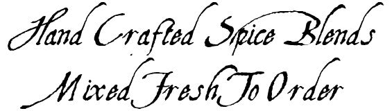Hand crafts and mixed fresh to order