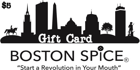 Boston Spice Gift Cards