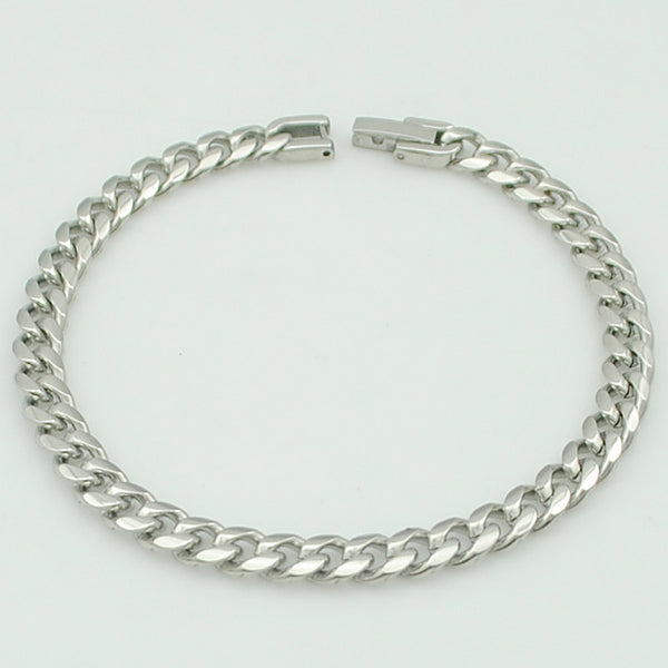 Men's Stainless Steel Chunk Chain Link BraceletBracelets,  - Things to Zen About