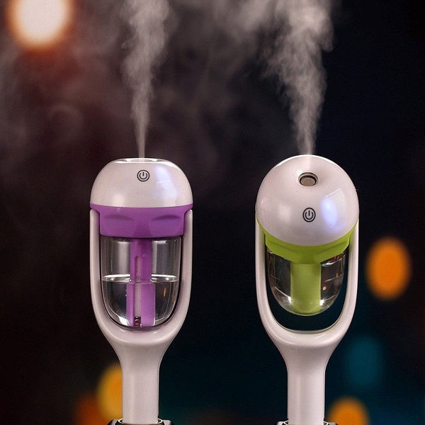 New - Mini Car Humidifier, Air Purifier, Essential Oil Diffuser. Plugs Into Your Car OutletEssential Oil Diffusers,  - Things to Zen About