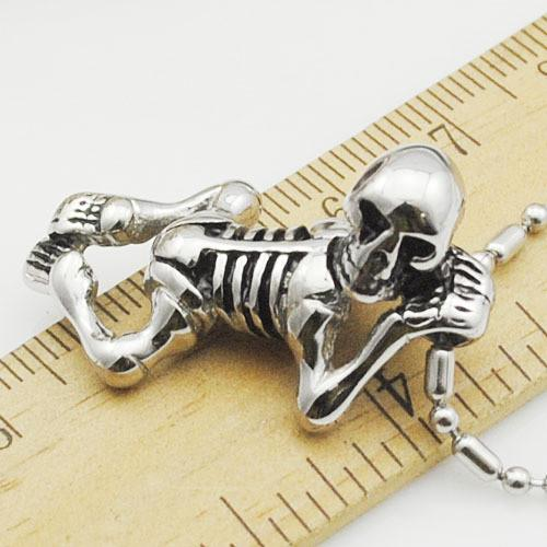 Make Room for this Boney Dude! Simply a Must Have for Halloween or Just for KicksNecklaces,  - Things to Zen About