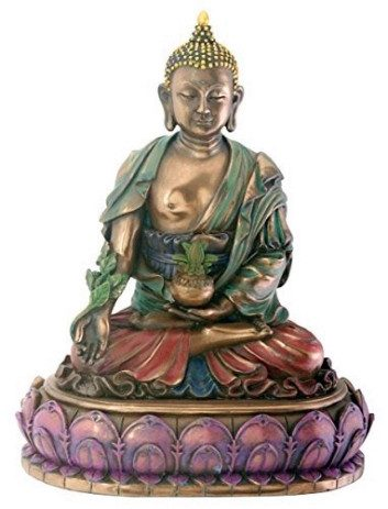 Amitabha, 'The Buddha of Infinite Light' Crafted with the Finest DetailsStatues & Sculptures,  - Things to Zen About