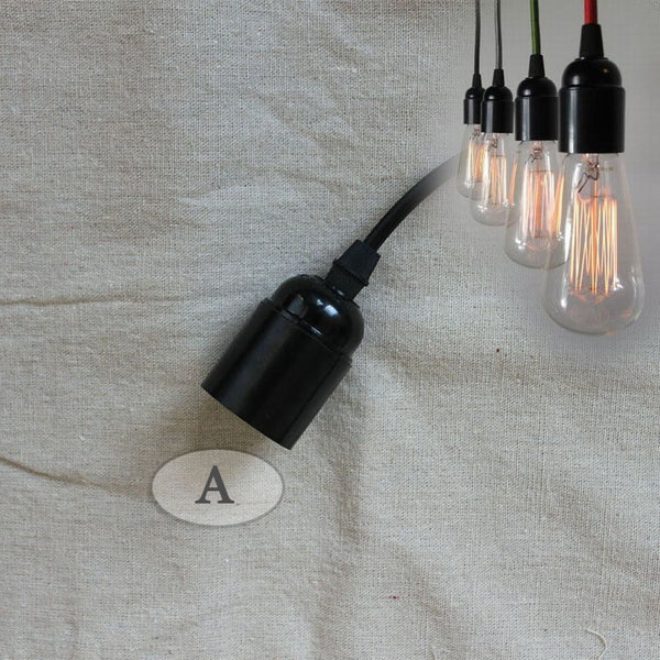 Retro Industrial Edison Pendant Drop LightPendant Lighting,  - Things to Zen About