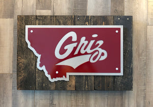 University of Montana Griz - Layered