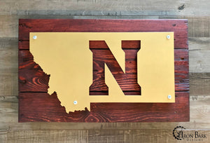 Montana State University - Northern Metal Sign