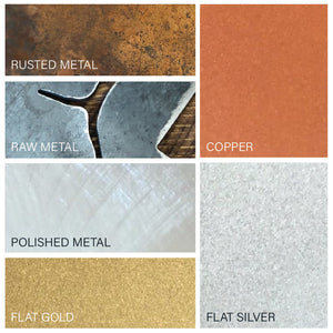 Montana Trees Metal Sign