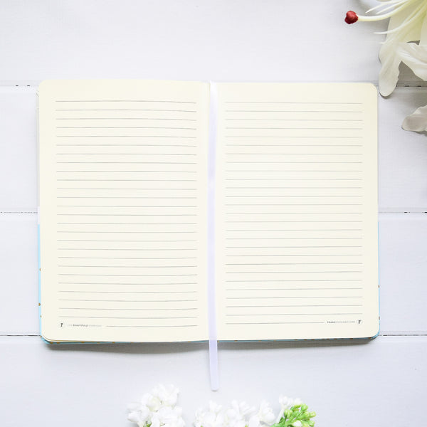 Up & Atem Frank Stationery NHA5-BG Pastel Notebook Blue 1