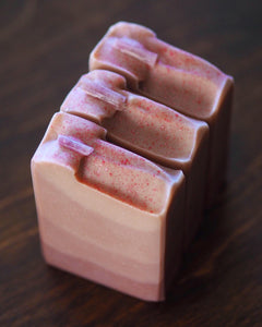 Tourmaline Dreams - Pink Tourmaline Crystal Soap - Special Edition