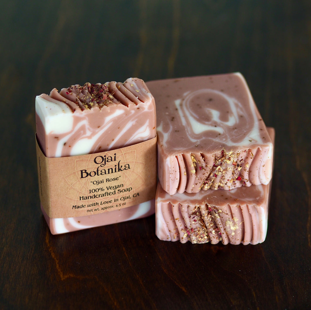 Ojai Rose - Artisan Natural Soap