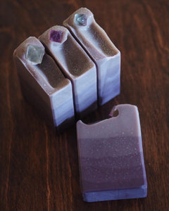 Lavender Dreams - Fluorite Crystal Soap - Limited Edition