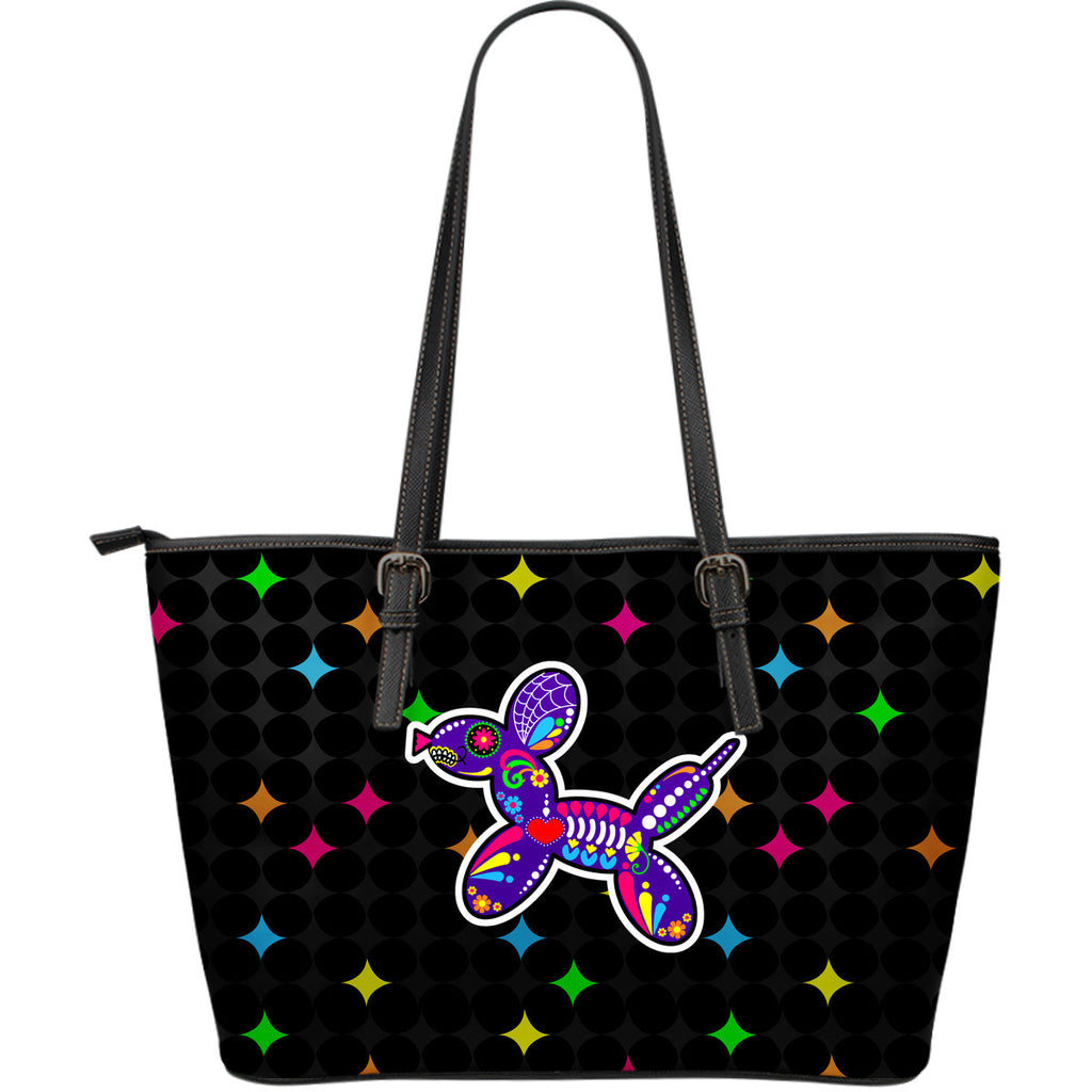 Balloon Dog Sugar Skull Large Purse