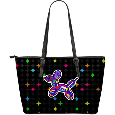Balloon Dog Sugar Skull Large Tote