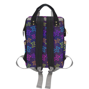Neon Dogs Jam Backpack