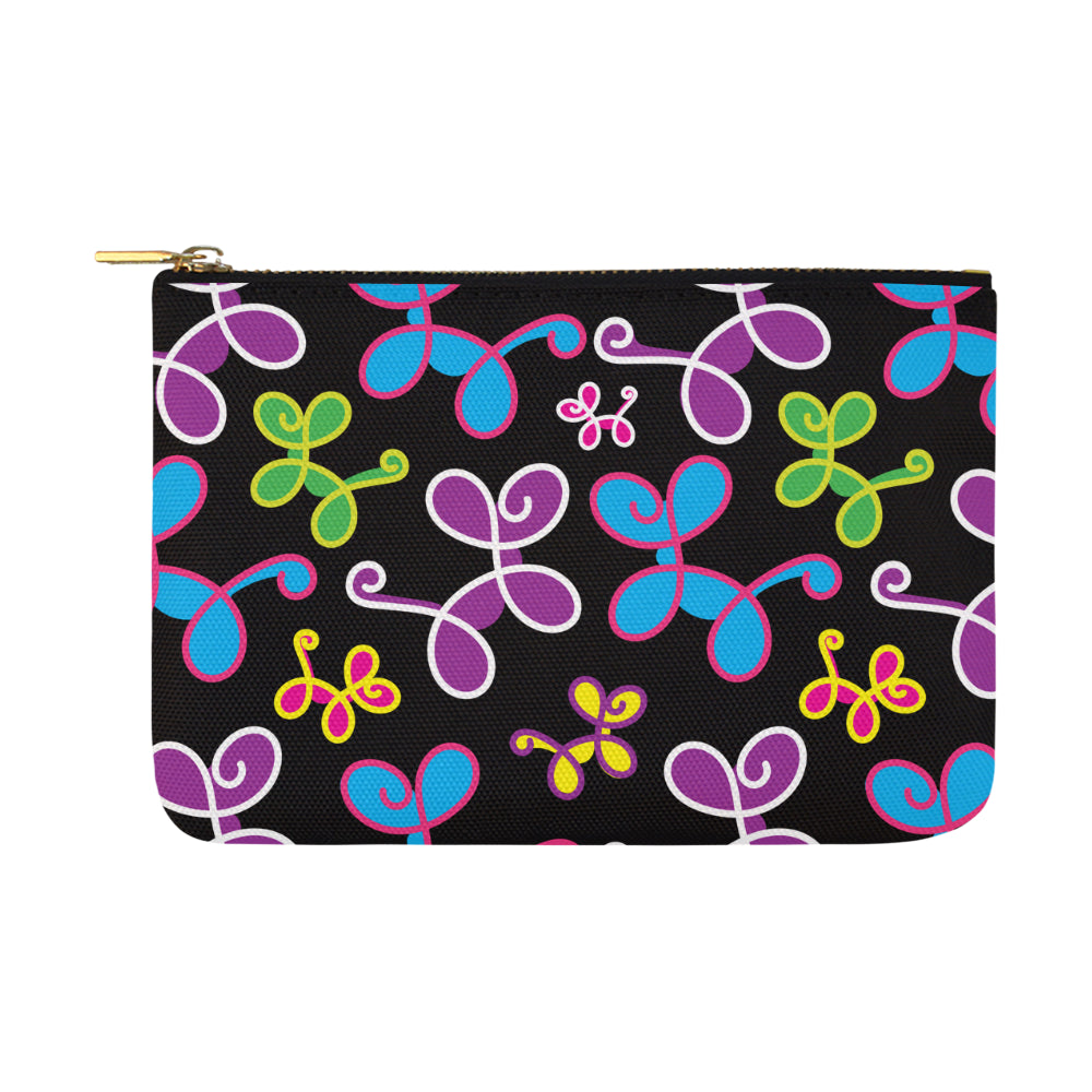 Swirly Pups Zippered Pouch