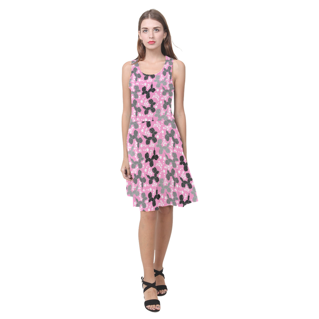 Retro dogs Sleeveless Sundress