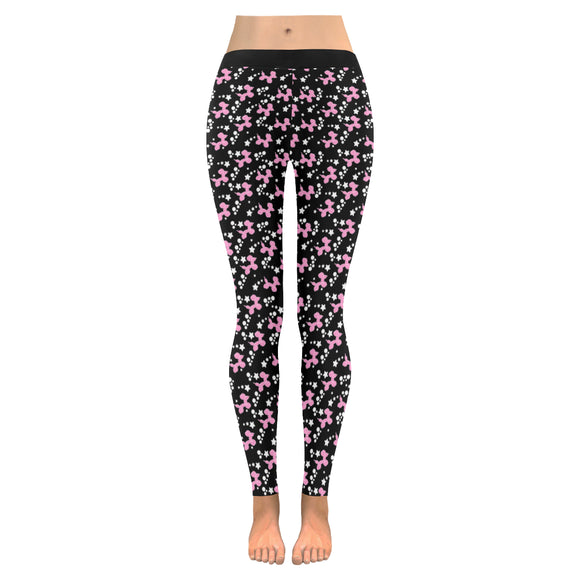 Pink Dogs & Stars leggings *