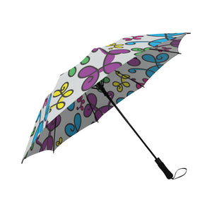 Swirly Pups Auto Fold Umbrella