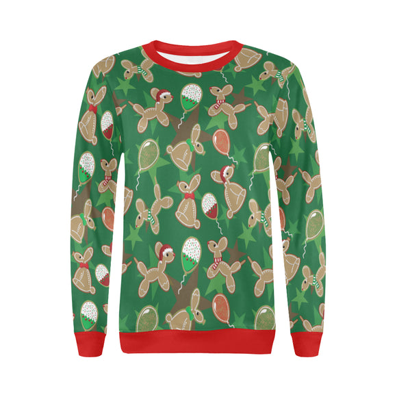 Animal Cookies Women's Holiday Sweater