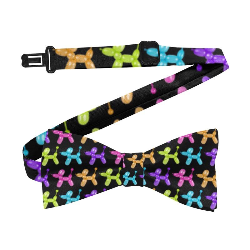 Color Pop Balloon Dog Bow Tie
