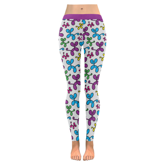 Swirly Pups Leggings
