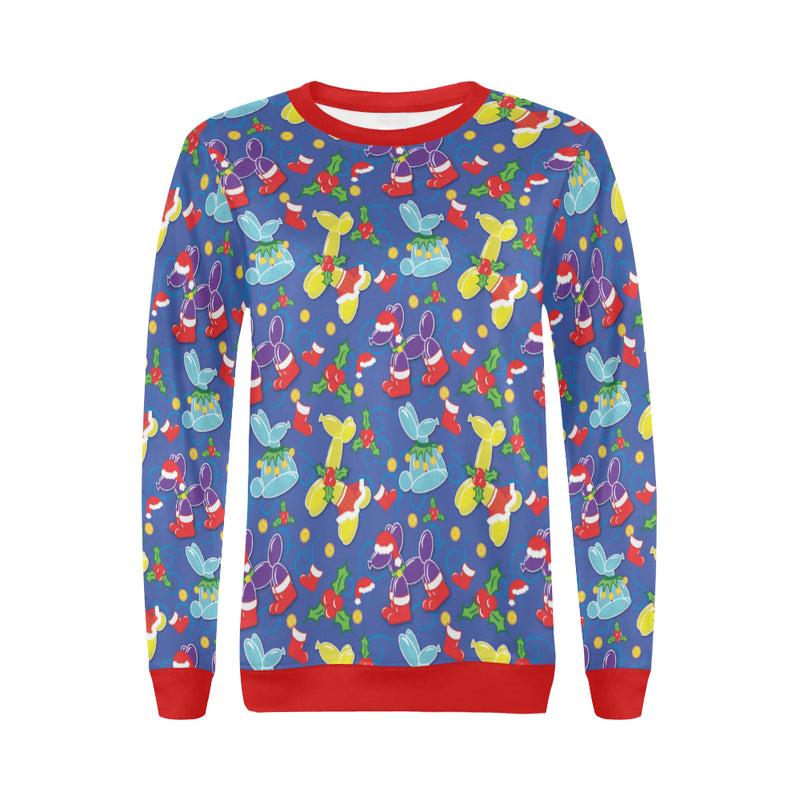 Holiday Balloon Animal Classics Women's Sweater