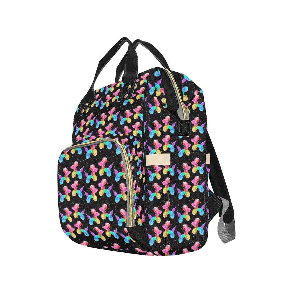 Rainbow Balloon Dogs Jam Backpack