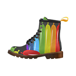 Men's PU Leather Twister Boots