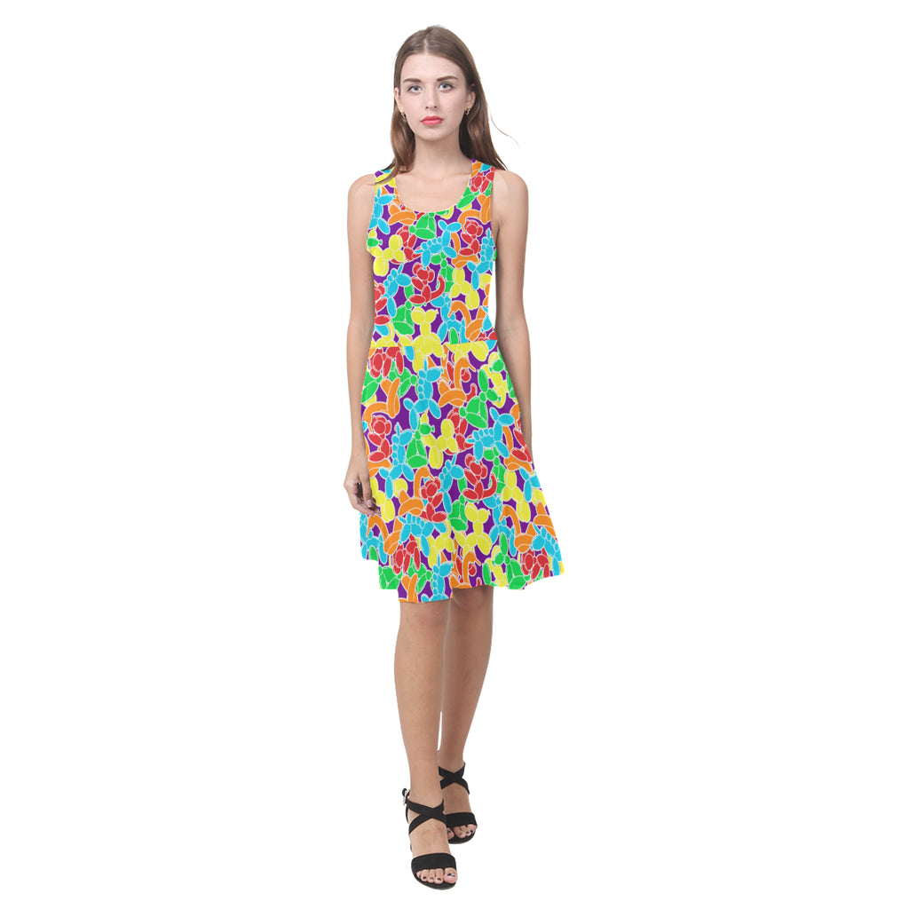 Jam Room Floor Sleeveless Sundress