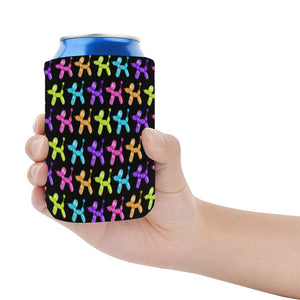 Color Pop Balloon Dog Neoprene Can Cooler