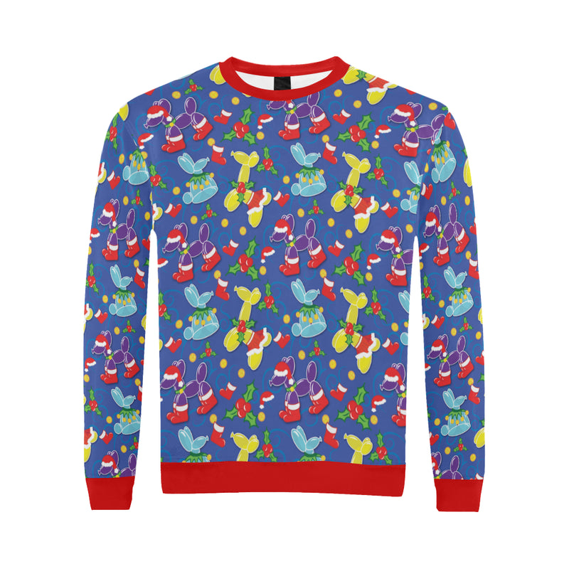 Holiday Balloon Animal Classics Men's Sweater