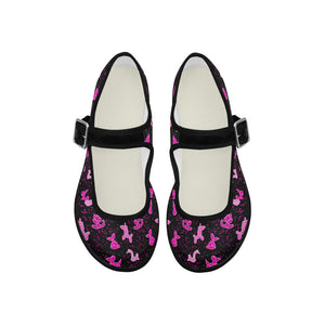 pinktoe.fw Mila Satin Women's Mary Jane Shoes (Model 4808)