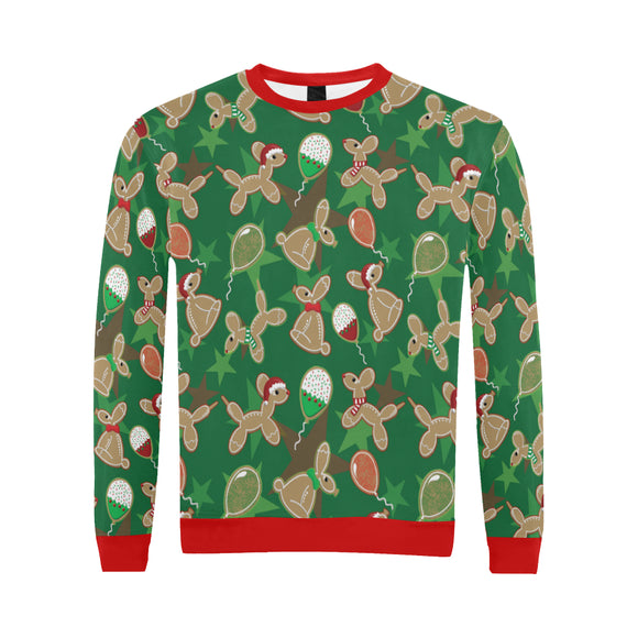 Animal Cookies Men's Holiday Sweater