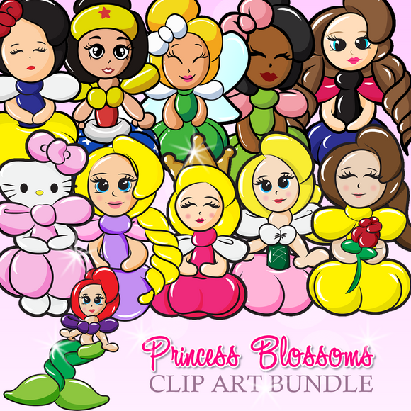 Princess Blossoms Bundle