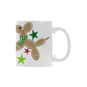 Holiday Balloon Animals Cookies Coffee Mug