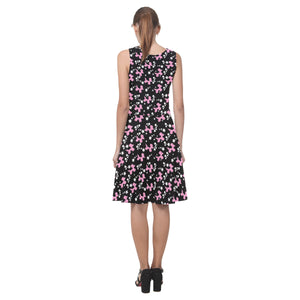 Pink Dogs & Stars Sleeveless Sundress