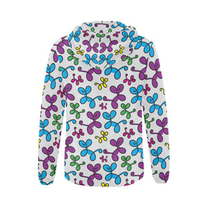 Swirly Pups Zippered Hoodie