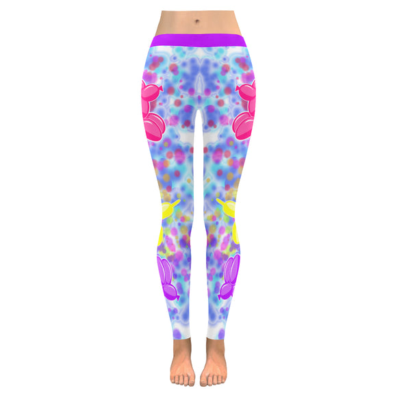 POP Art Balloon Dog Leggings*