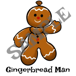 Bearhead Gingerbread Man