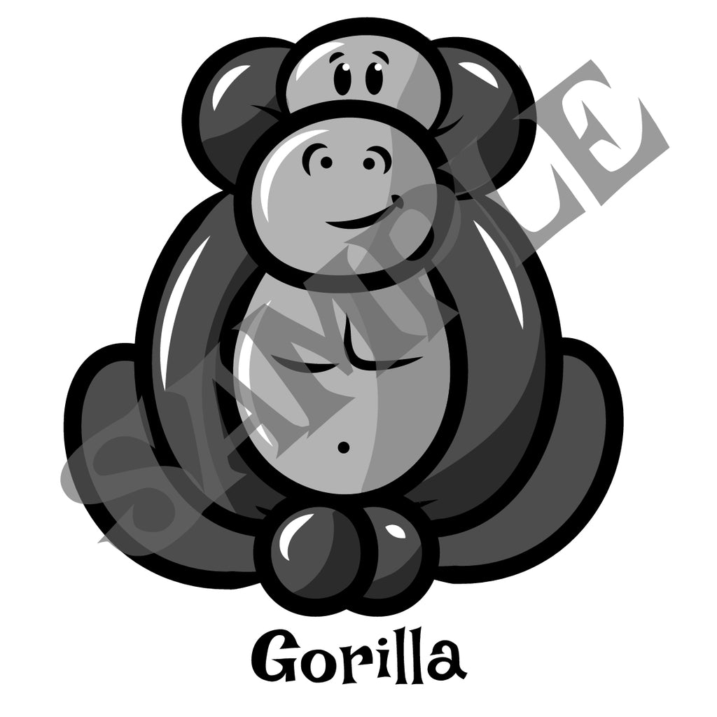 Gorilla Balloon Animal