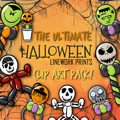 Halloween Prints Clip Art Bundle