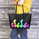 Pop Parade Large Leather Tote