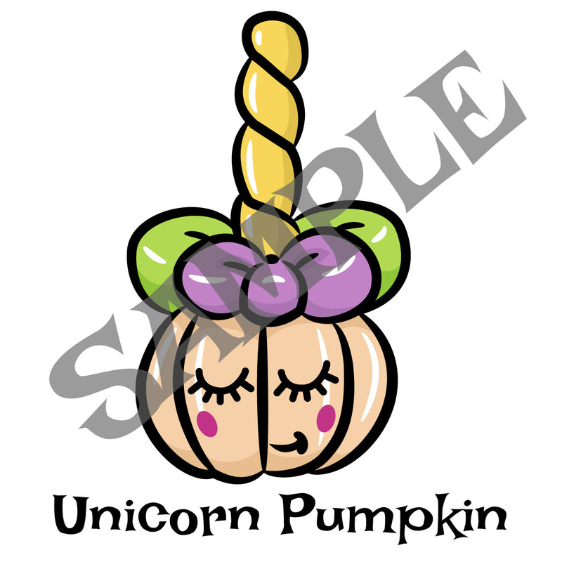 Pumpkin Unicorn