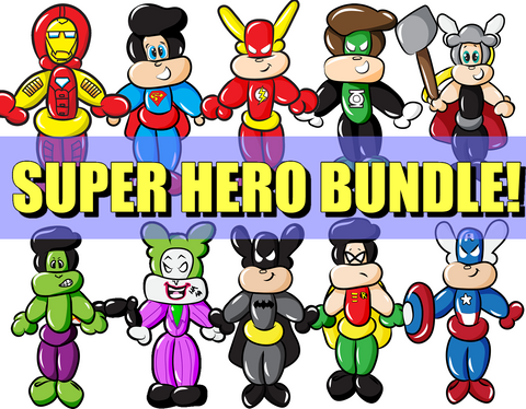Juan Super Heros Bundle