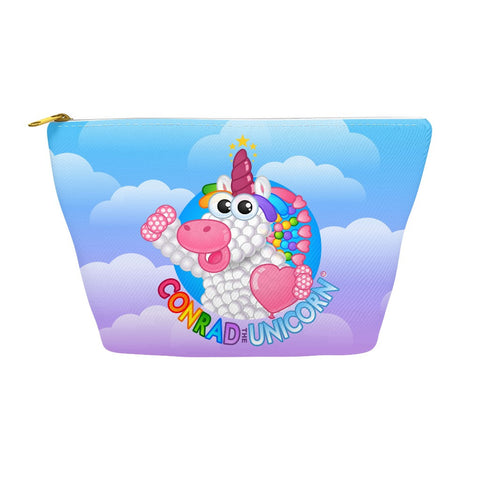 Official Conrad the Unicorn Logo Accessory Pouch in Blue Sunset